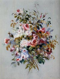 A Bouquet of Roses | Renoir | Gemälde Reproduktion