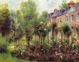 Der Rosengarten in Wargemont | Renoir | veraltet