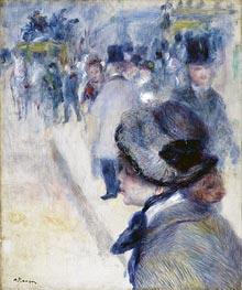 Place Clichy, c.1880 von Renoir | Gemälde-Reproduktion