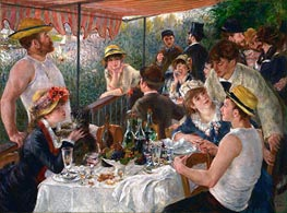 Luncheon of the Boating Party | Renoir | veraltet