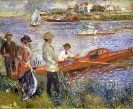 Oarsmen at Chatou, 1879 by Renoir | Painting Reproduction