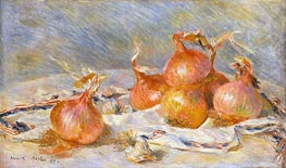Onions, 1881 by Renoir | Painting Reproduction
