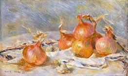 Onions, 1881 von Renoir | Gemälde-Reproduktion
