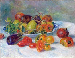Fruits of the Midi, 1881 by Renoir | Painting Reproduction