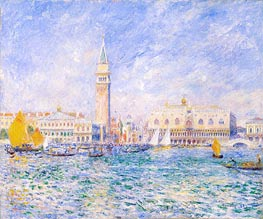 The Doges' Palace, Venice | Renoir | Gemälde Reproduktion