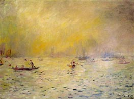 View of Venice, Fog, 1881 by Renoir | Painting Reproduction