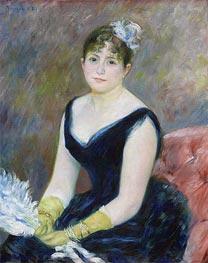 Madame Leon Clapisson, 1883 by Renoir | Painting Reproduction