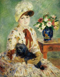 Madame Hagen, 1883 by Renoir | Painting Reproduction