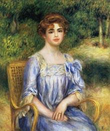 Madame Gaston Bernheim de Villers (Suzanne Adler), 1901 by Renoir | Painting Reproduction