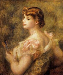 Madame Charles Fray, 1901 by Renoir | Painting Reproduction