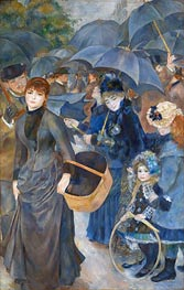 The Umbrellas, c.1881/86 von Renoir | Gemälde-Reproduktion