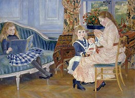 Children's Afternoon at Wargemont | Renoir | Gemälde Reproduktion