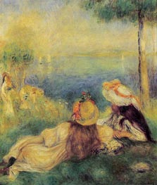 Young Girls at the Seaside | Renoir | veraltet