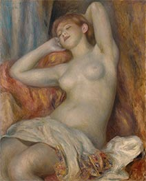 The Sleeping Bather (The Sleeper), 1897 by Renoir | Painting Reproduction