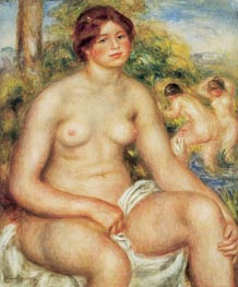 Seated Nude, 1914 by Renoir | Painting Reproduction