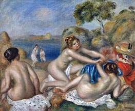 Three Bathers with a Crab | Renoir | veraltet