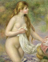 Long-haired Bather | Renoir | veraltet