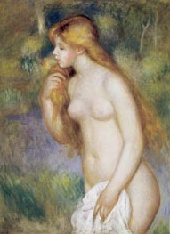 Bather Standing, 1896 by Renoir | Painting Reproduction