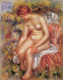 Bather Drying her Leg | Renoir | Gemälde Reproduktion
