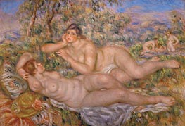 The Great Bathers (The Nymphs) | Renoir | veraltet