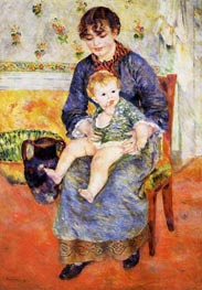 Mother and Child | Renoir | veraltet