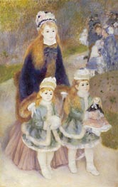 Mother and Children, c.1874/76 by Renoir | Painting Reproduction