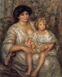 Madame Thurneyssan and Her Daughter | Renoir | veraltet