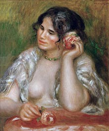 Gabrielle with a Rose | Renoir | veraltet