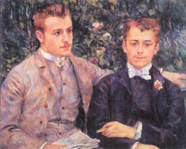 Portrait of Charles and Georges Durand-Ruel | Renoir | veraltet