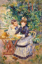 In the Garden | Renoir | Gemälde Reproduktion