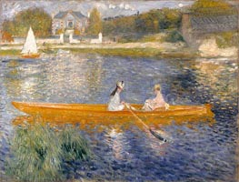 The Skiff (La Yole) | Renoir | Gemälde Reproduktion