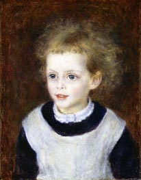 Marguerite-Therese (Margot) Berard, 1879 by Renoir | Painting Reproduction
