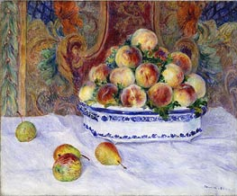Still Life with Peaches | Renoir | Gemälde Reproduktion