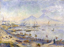 The Bay of Naples | Renoir | Gemälde Reproduktion
