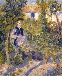 Nini in the Garden (Nini Lopez) | Renoir | Gemälde Reproduktion