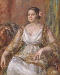 Tilla Durieux (Ottilie Godeffroy) | Renoir | Gemälde Reproduktion