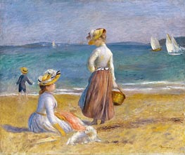 Figures on the Beach | Renoir | veraltet