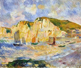 Sea and Cliffs | Renoir | Gemälde Reproduktion