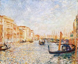 Grand Canal, Venice, 1881 by Renoir | Painting Reproduction