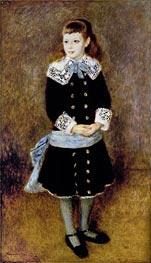 Girl with Blue Sash | Renoir | veraltet