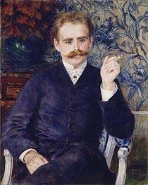 Albert Cahen d'Anvers, 1881 von Renoir | Gemälde-Reproduktion