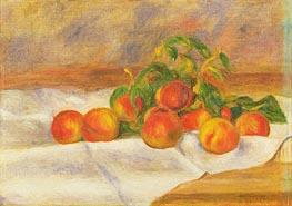 Peaches, 1895 von Renoir | Gemälde-Reproduktion