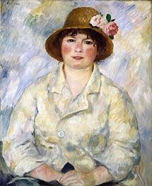 Portrait of Madame Renoir, c.1885 von Renoir | Gemälde-Reproduktion