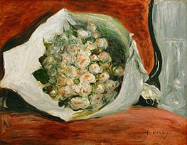 Bouquet in a Theatre Box, c.1878/80 von Renoir | Gemälde-Reproduktion