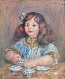 Genevieve Bernheim de Villers, 1910 von Renoir | Gemälde-Reproduktion