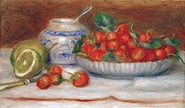 Still Life with Strawberries, 1905 von Renoir | Gemälde-Reproduktion