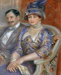 Monsieur et Madame Bernheim de Villers, 1910 von Renoir | Gemälde-Reproduktion