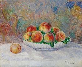 Peaches, undated von Renoir | Gemälde-Reproduktion