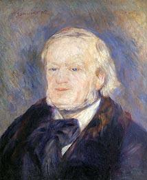 Richard Wagner, 1882 von Renoir | Gemälde-Reproduktion