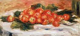 Strawberries on a White Tablecloth, undated von Renoir | Gemälde-Reproduktion